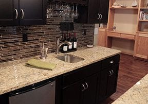 Basement Kitchen Residential