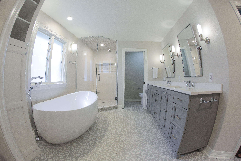 Abbey Road master bathroom remodel - Everitt Construction on master bathroom clawfoot tub, master bathroom corner tub, master bathroom claw tub,